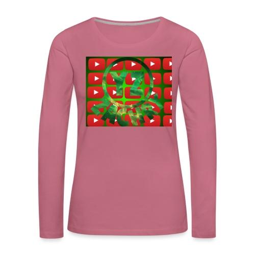 YZ-Muismatjee - Vrouwen Premium shirt met lange mouwen