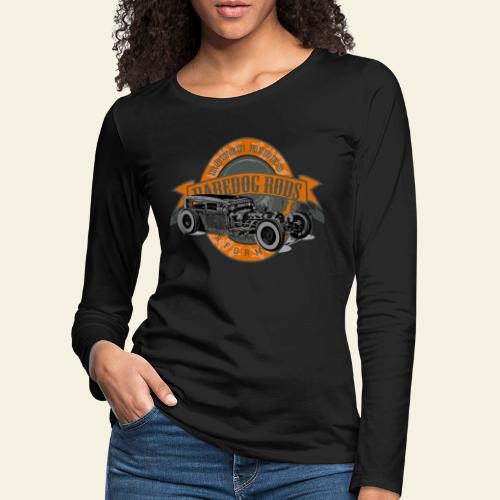 Raredog Rods Logo - Dame premium T-shirt med lange ærmer