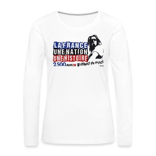 Vercingétorix - T-shirt manches longues Premium Femme