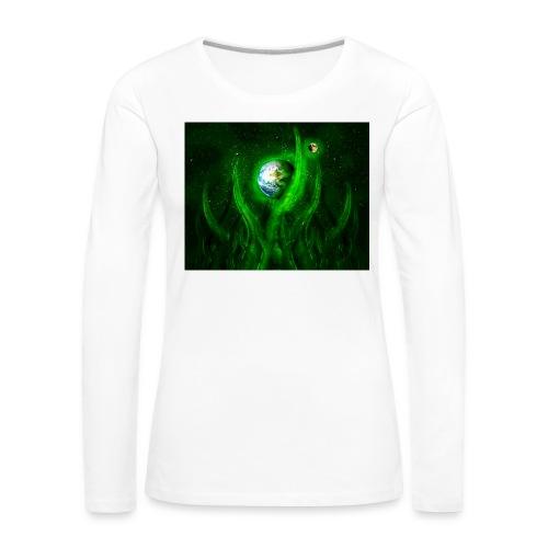 Cthulhu Rising - Frauen Premium Langarmshirt