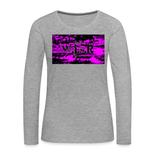 wisr valuva taivas Naisten-T Paita - Naisten premium pitkähihainen t-paita