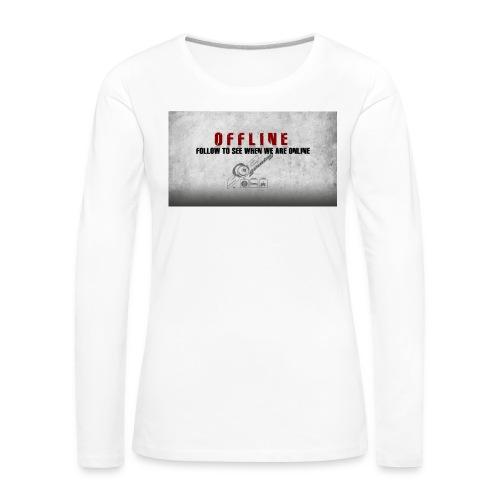 Offline V1 - Women's Premium Longsleeve Shirt