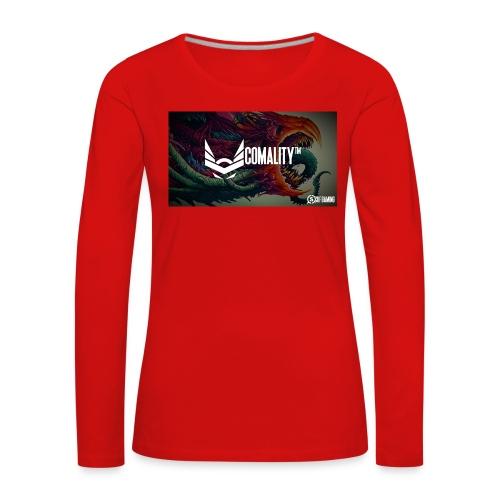 WRONG   Out off stock - Vrouwen Premium shirt met lange mouwen