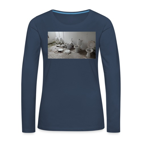 Toilets - Dame premium T-shirt med lange ærmer