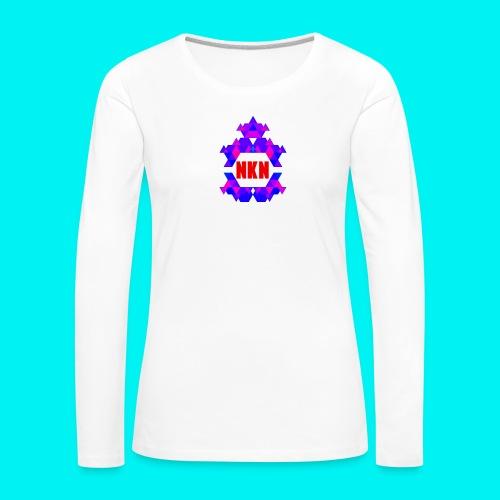 THE OFFICIAL NEUKADNEZZAR T-SHIRT - Women's Premium Longsleeve Shirt