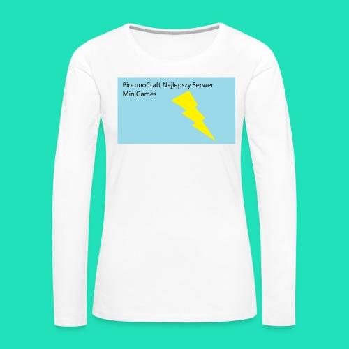 Etui Piorunowe Na Telefon 6s - Koszulka damska Premium z długim rękawem