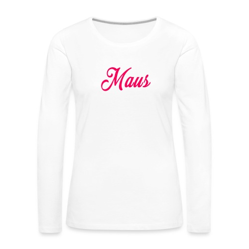 KIDS MAUS SWEATER by MAUS - Vrouwen Premium shirt met lange mouwen