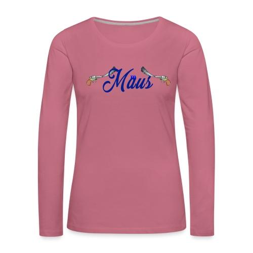 Waterpistol Sweater by MAUS - Vrouwen Premium shirt met lange mouwen