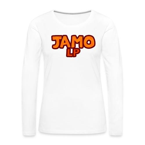 JAMOLP Logo Mug - Dame premium T-shirt med lange ærmer
