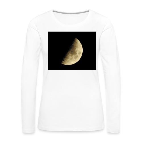 LUNA_3840X3072 - Maglietta Premium a manica lunga da donna
