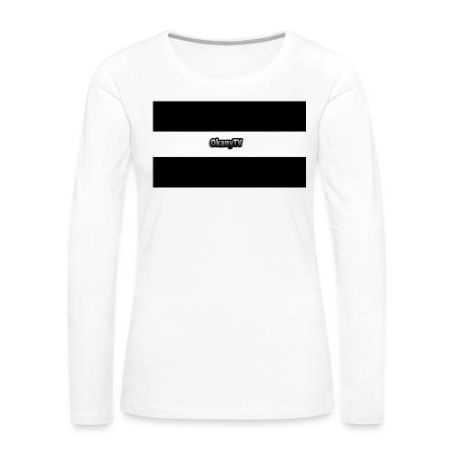 OkanyTV - Frauen Premium Langarmshirt