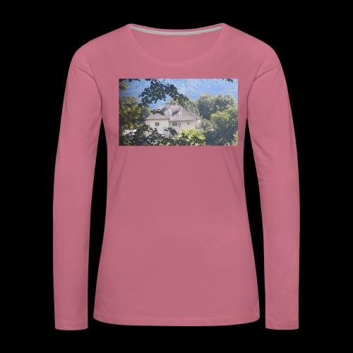 Altes Haus Vintage - Frauen Premium Langarmshirt