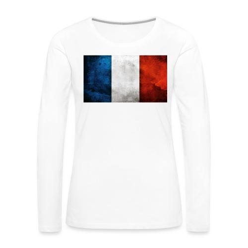 France Flag - Women's Premium Longsleeve Shirt