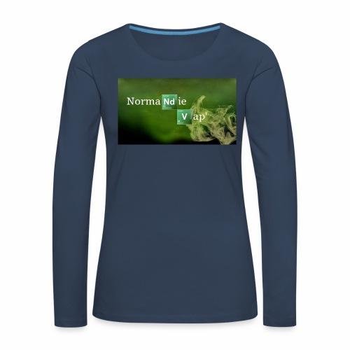 Normandie Vap' - T-shirt manches longues Premium Femme