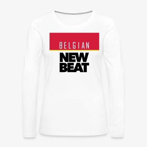 BNB SQ - Vrouwen Premium shirt met lange mouwen