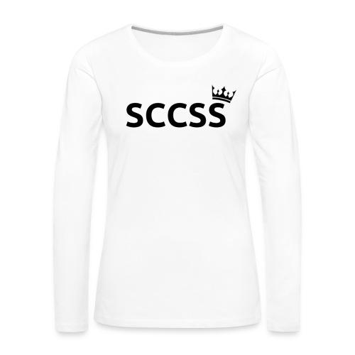 SCCSS - Vrouwen Premium shirt met lange mouwen