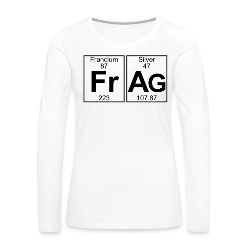 Fr-Ag (frag) - Full - Women's Premium Longsleeve Shirt