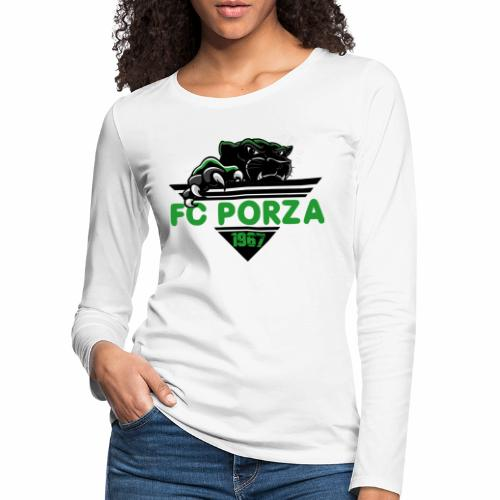 FC Porza 1 - Frauen Premium Langarmshirt