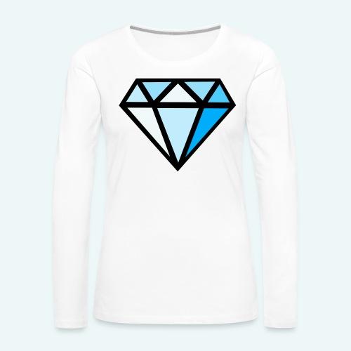 FCTimantti logo ilman tekstia - Naisten premium pitkähihainen t-paita