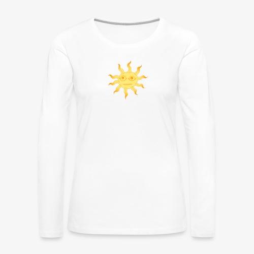 soleil - T-shirt manches longues Premium Femme