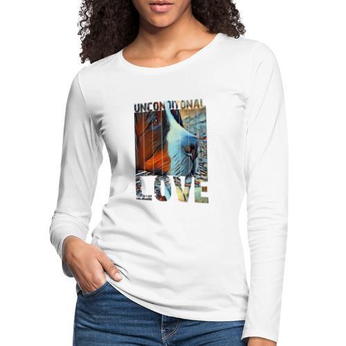Bernese mountain dog - Vrouwen Premium shirt met lange mouwen