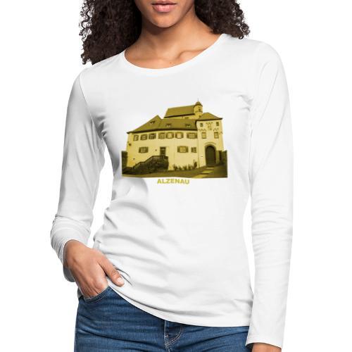 Alzenau Burg Unterfranken Bayern - Frauen Premium Langarmshirt