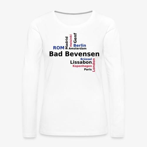 City_Europa_BadBevensen - Frauen Premium Langarmshirt