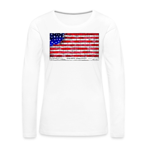 Good Night Human Rights - Women's Premium Longsleeve Shirt