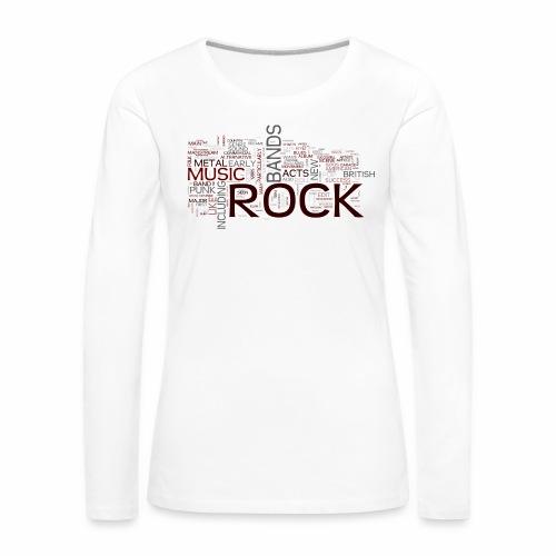 rockwords - Frauen Premium Langarmshirt