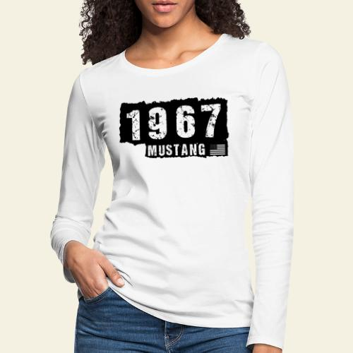 1967 - Dame premium T-shirt med lange ærmer