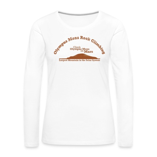 Olympus Mons Rock Climbing - Women's Premium Longsleeve Shirt