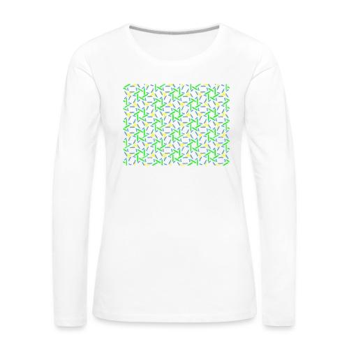 Ornament 025 - Frauen Premium Langarmshirt