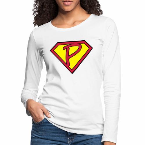 superp 2 - Frauen Premium Langarmshirt