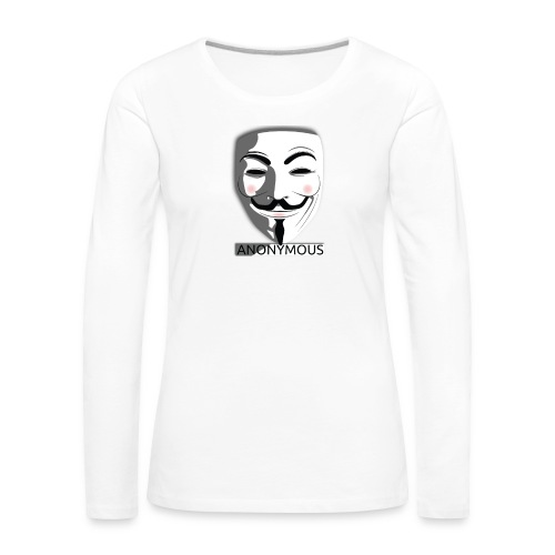 Anonymous - Women's Premium Longsleeve Shirt