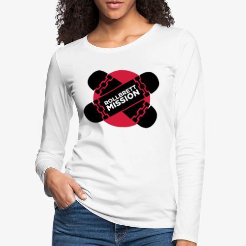 Mission Nippon - Frauen Premium Langarmshirt