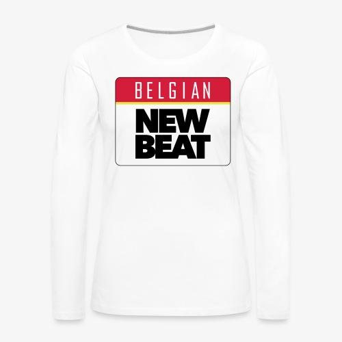 BNB LOGO - Vrouwen Premium shirt met lange mouwen