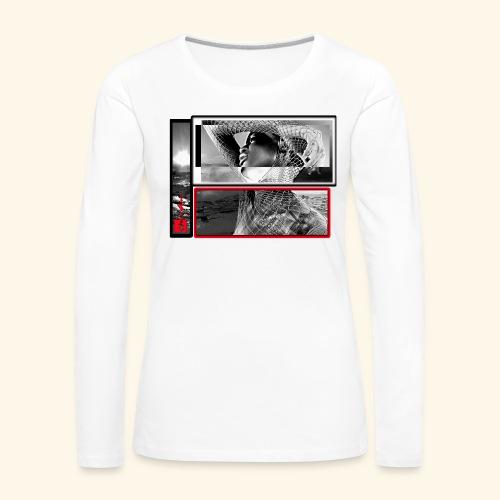 final1b break - T-shirt manches longues Premium Femme