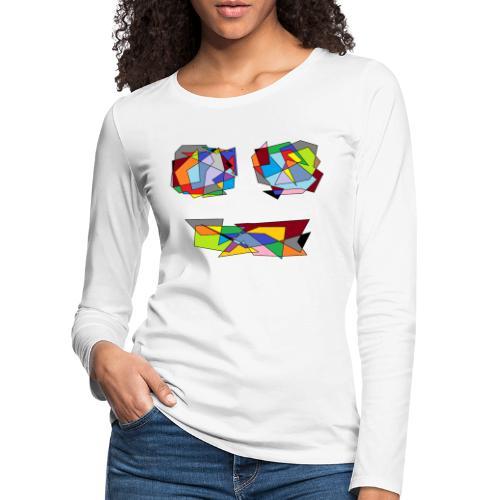 TheFace - Frauen Premium Langarmshirt
