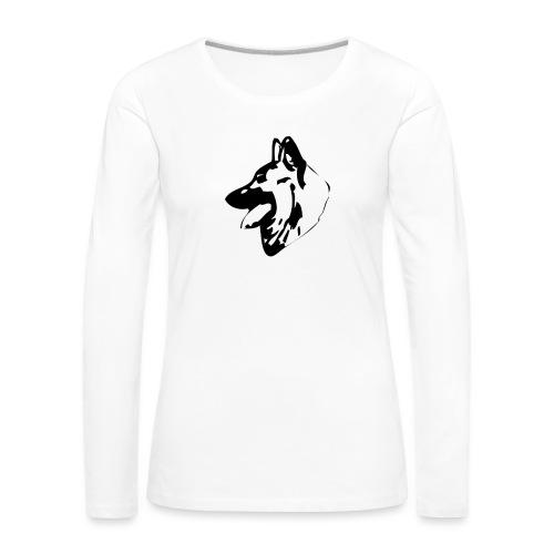 Tête Tervueren - T-shirt manches longues Premium Femme