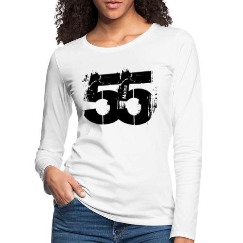 City_55_Mainz - Frauen Premium Langarmshirt