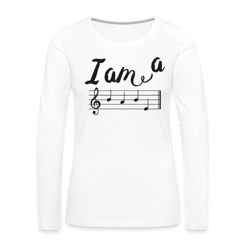 ImABabe - Vrouwen Premium shirt met lange mouwen