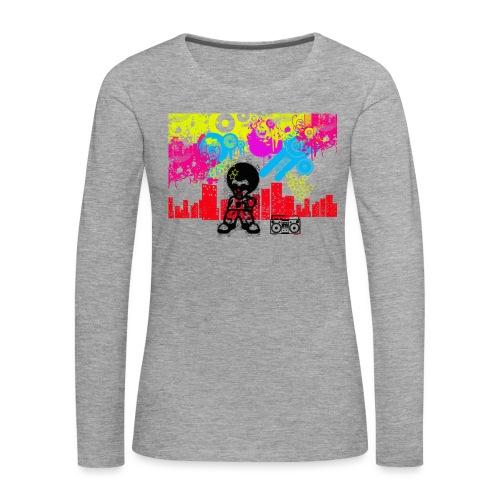 Magliette personalizzate bambini Dancefloor - Maglietta Premium a manica lunga da donna