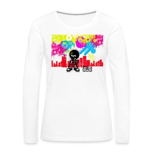Borse personalizzate con foto Dancefloor - Maglietta Premium a manica lunga da donna