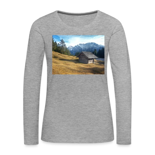 Bergwelt - Frauen Premium Langarmshirt