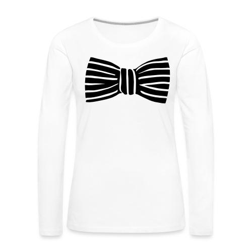 bow_tie - Women's Premium Longsleeve Shirt