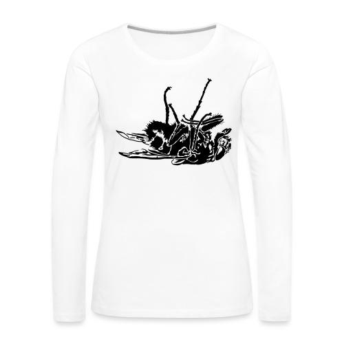 mouche morte - T-shirt manches longues Premium Femme