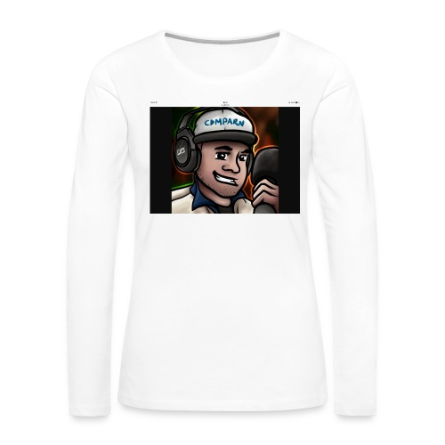 Comparns - Långärmad premium-T-shirt dam