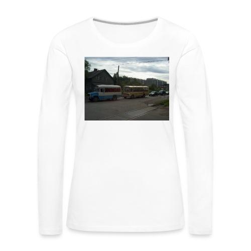 Sortavala - Naisten premium pitkähihainen t-paita
