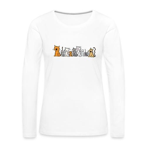 Cats & Cats - Vrouwen Premium shirt met lange mouwen