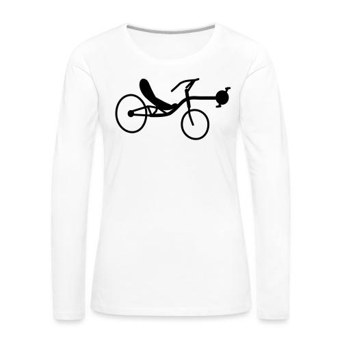 Liegerad Streetmachine 2 - Frauen Premium Langarmshirt